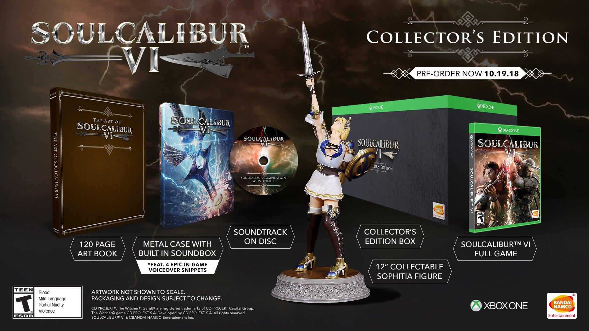 SOULCALIBUR VI: Xbox One Collector's Edition