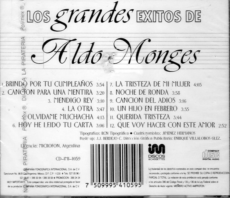 ALDO MONGES - LOS GRANDES EXITOS DE