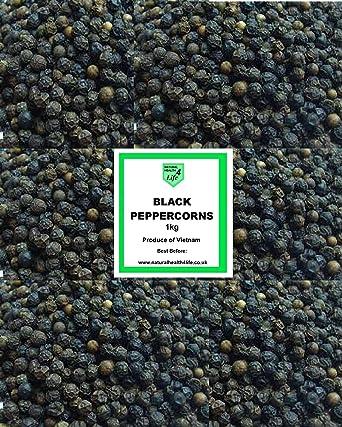 Whole Black Peppercorns Dried Spices/Seasonings (1KG)