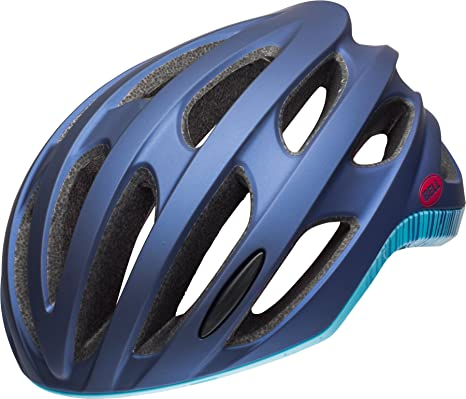 Casco de ciclismo Bell Nala MIPS, Matt / Gloss Navy / Sky, Pequeño ...