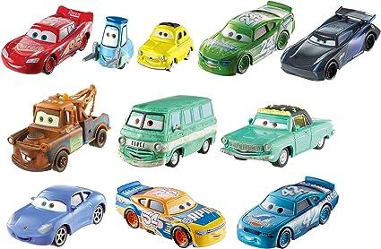 Amazon Com Disney Pixar Cars 3 Die Cast 10 Pack Amazon Exclusive