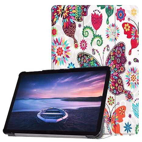 Custodia protettiva per Samsung Galaxy Tab s4 10,5 sm-t830 sm-t835 SMART COVER BOOK CASE