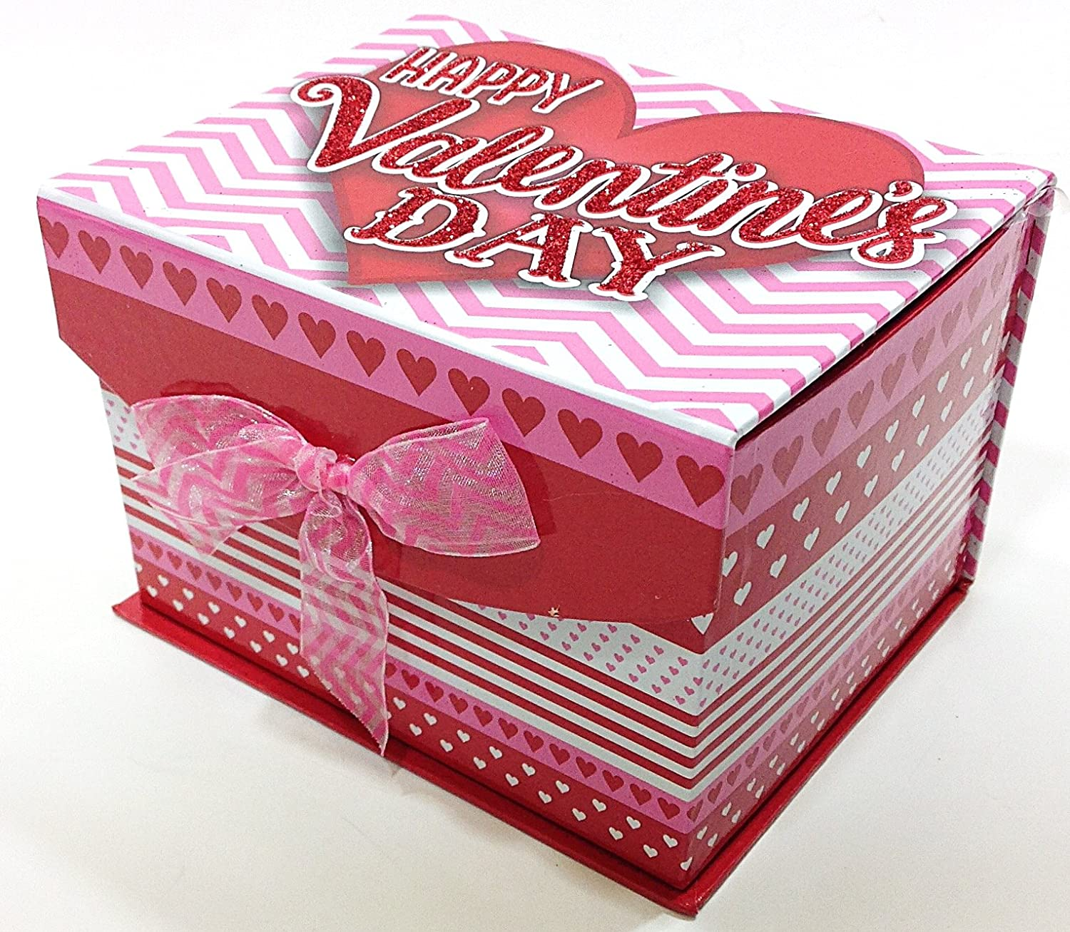 Amazon.com : Happy Valentines Day Gift Box - Lindt Lindor Truffles ...