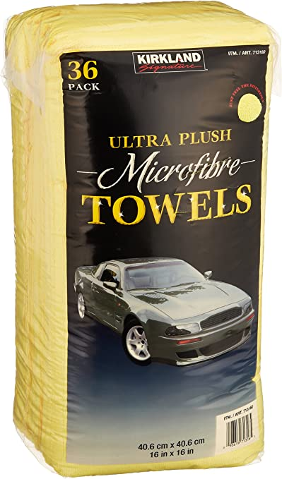 Premium Microfiber Towels, 36 Count