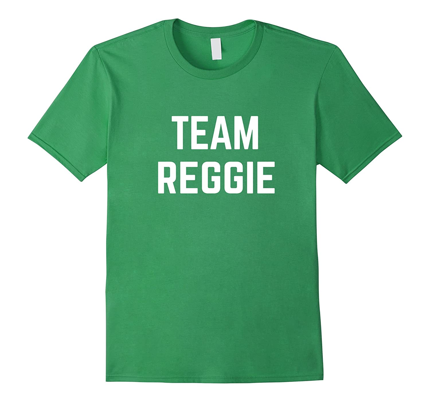 Team reggie friend family fan club support t shirt td teedep for I support two teams t shirt