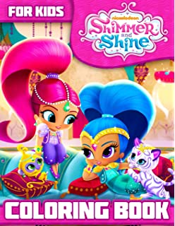 Shimmer And Shine Coloring Book Great For Kids Toddlers