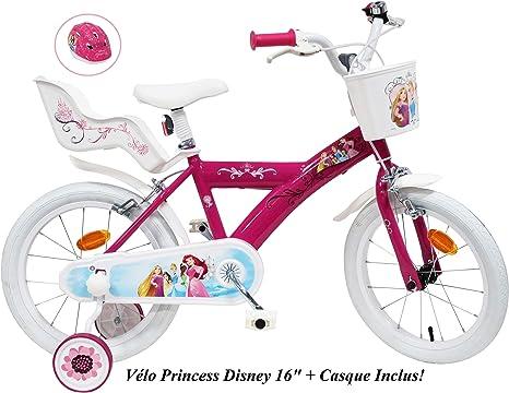 Bicicleta de 16 Pulgadas para niña Princess 2 Frenos ...