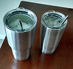 Yeti Cup Prices >> Amazon.com: 18/8 Straight Stainless Steel Drinking Straws ...