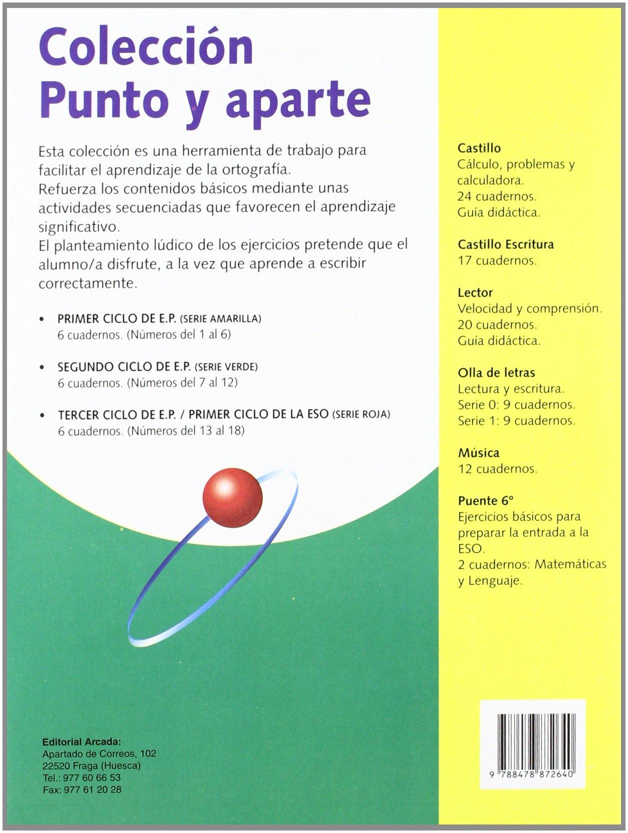 Punto Y Aparte. Ortografía 18: Amazon.es: Marian Ortuño, Àngels Beltrán I Balaguer: Libros