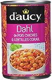 d'aucy Dahl de Pois Chiches/Lentilles Corail 400 g