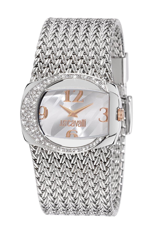 Just Cavalli Damen-Armbanduhr Analog Quarz Edelstahl R7253277615