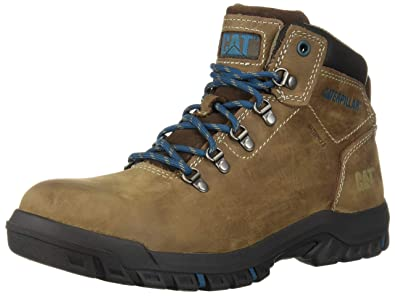 10a55e37f733 Caterpillar Women's Mae Steel Toe Waterproof Construction Boot, Bay Leaf,  ...