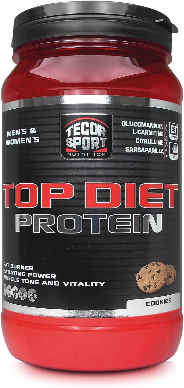Tegor Sport Top Diet Protein Complemento Nutricional Sabor Cookies - 840 gr