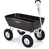 Gorilla Carts 1000 lb. Heavy-Duty Poly Dump Cart