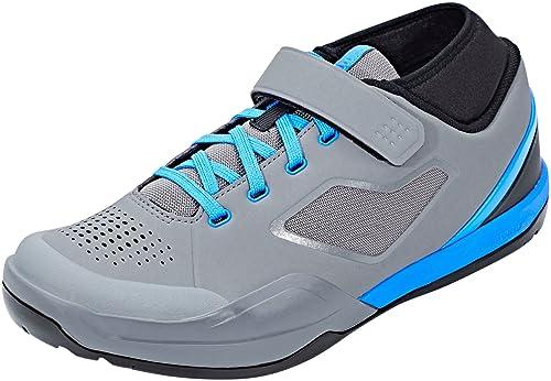 SHIMANO - Zapatillas de Ciclismo para Hombre Gris, Azul 41 EU: Amazon.es: Zapatos y complementos