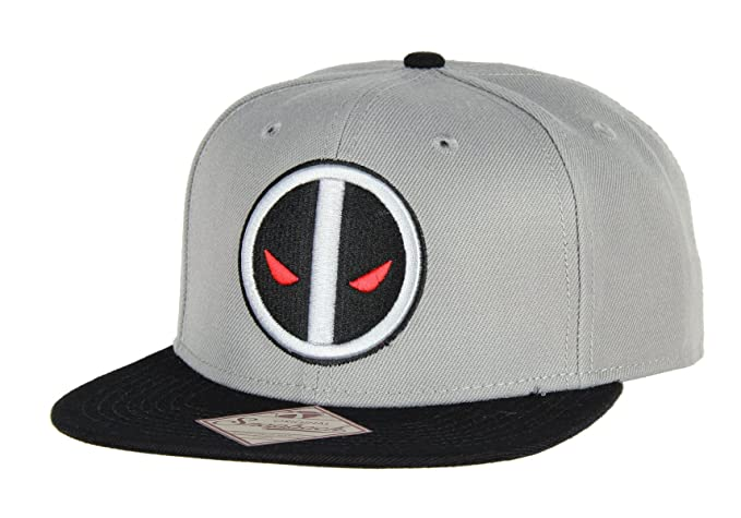 e3740669a57 Image Unavailable. Image not available for. Color  Marvel Comics Grey  Deadpool X Force Snapback