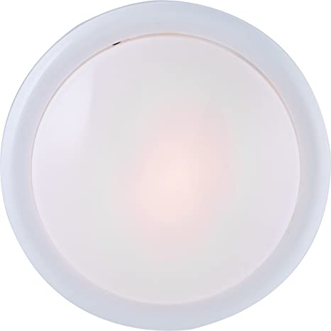 GE Round Tap Light, Battery Operated, White, Push On/Off, Wireless