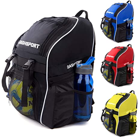 317d995c055 Soccer Backpack - Basketball Backpack - Youth Kids Ages 6 and Up - with  Ball Compartment