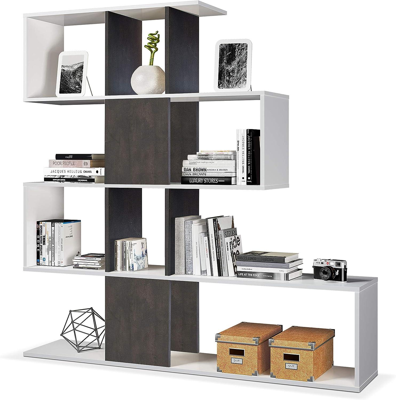 Habitdesign Estantería Librería, Salón, Comedor o Despacho ...