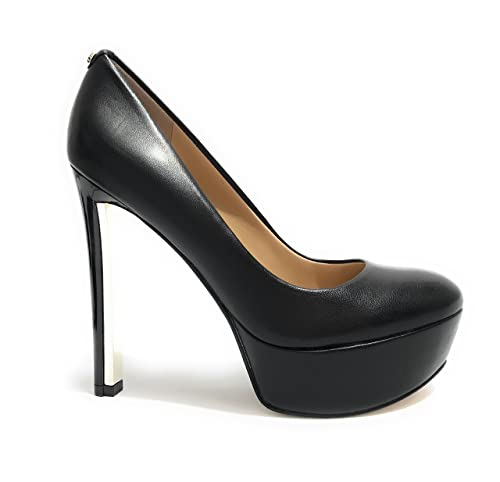 Scarpe Decollete Eager Pelle Donna Colore Nero Tc Guess 120 Pl30 FEqwd4wn