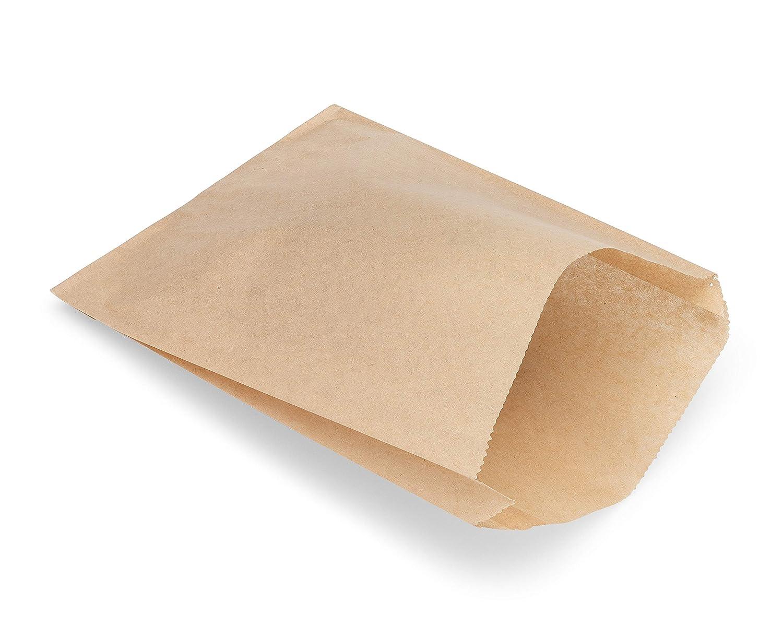 Kraft Paper Sandwich Style Bags (100) 6