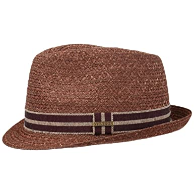 535292154b9b5b Stetson Jasper Trilby Hemp Hat Sun Beach: Amazon.co.uk: Clothing