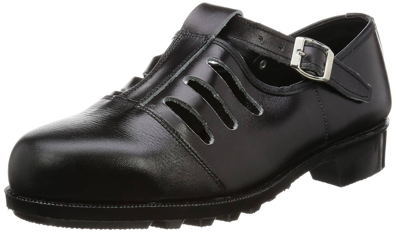 [エンゼル] 普通作業用安全靴 サンダル S120 6B039 B01L6OFPS0 ブラック 24.5 cm