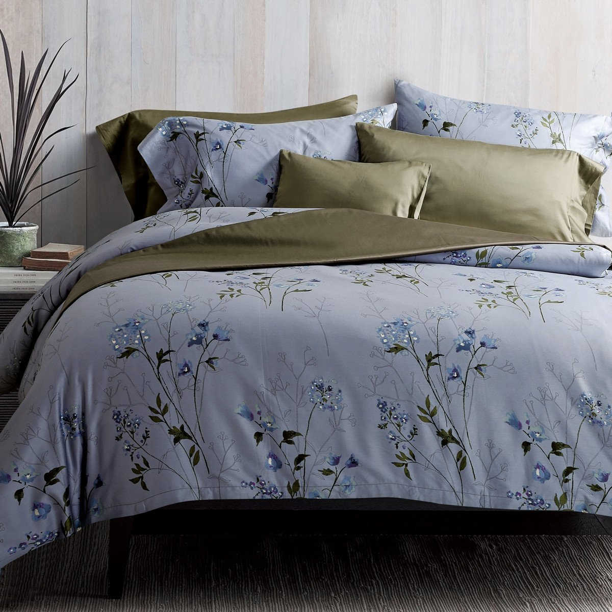 Vintage Botanical Flower Print Bedding