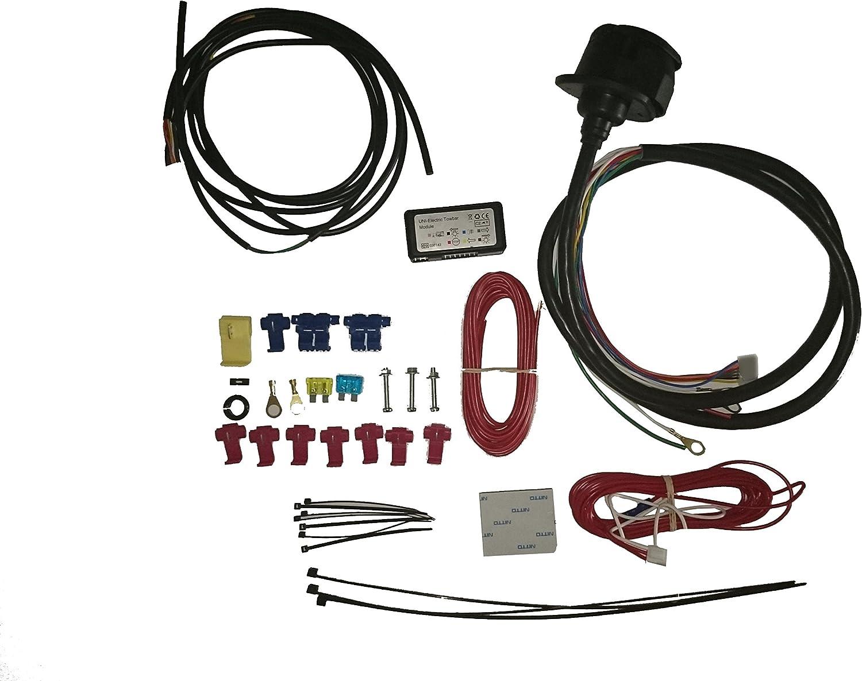 Umbrarimorchi Universell Anhängerkupplung Kabelsatz 13 Polig C2 Elektrosatz C2 Modul Wu403zmde1 Auto