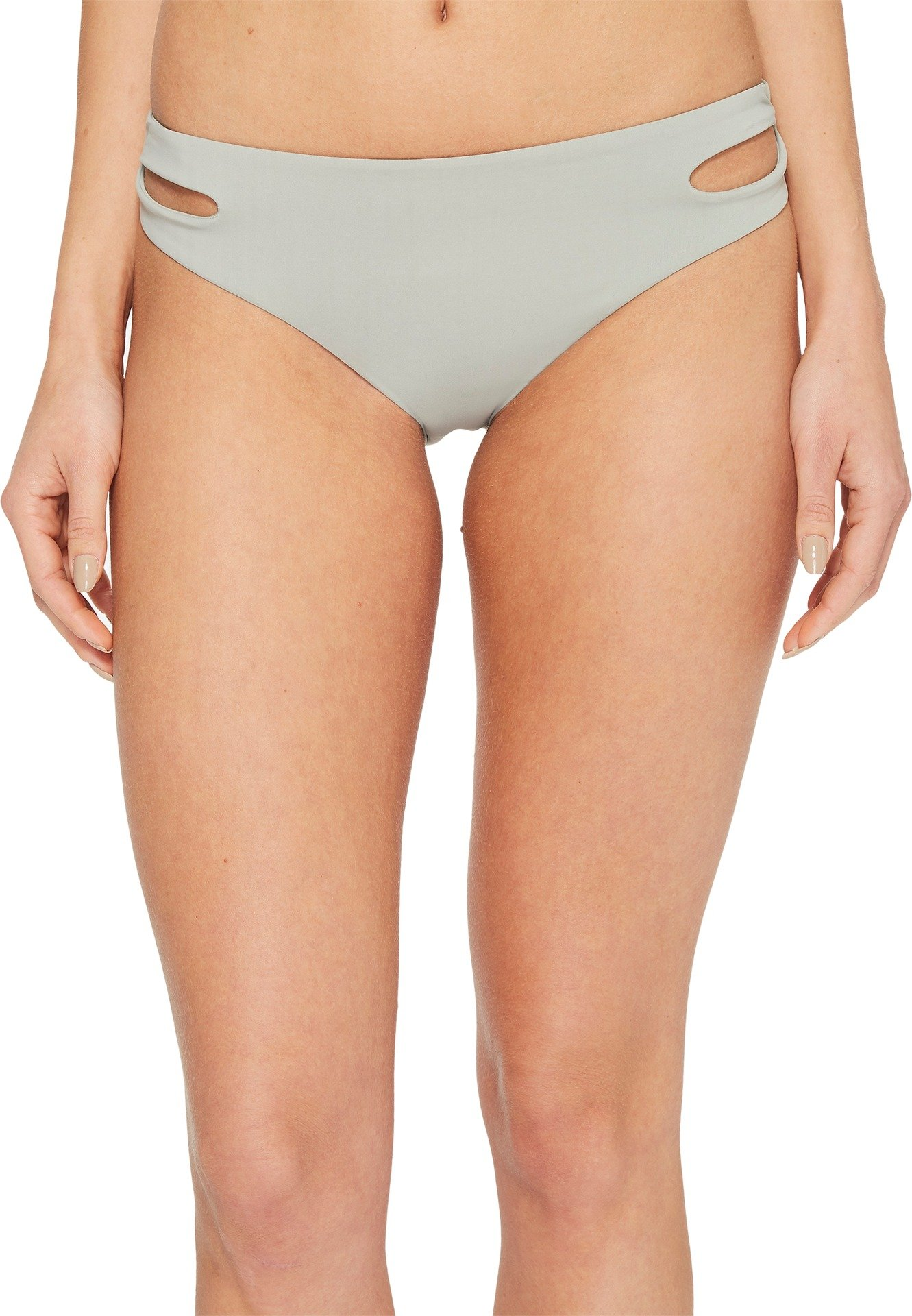 Roxy Junior's Solid Softly Love 70s Bikini Bottom, Wrought Iron, XS