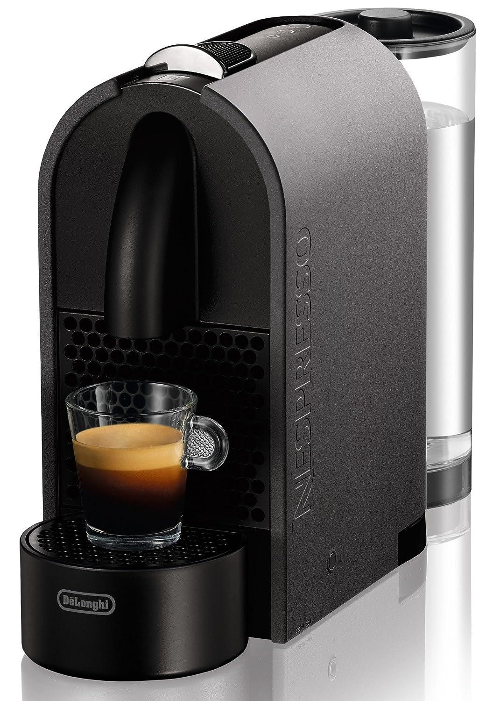 Nespresso DeLonghi U EN110G - Cafetera de cápsulas, color gris