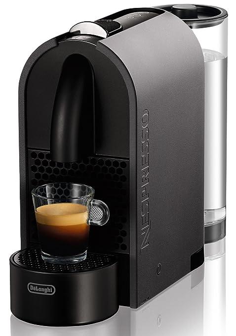 Nespresso DeLonghi U EN110G - Cafetera de cápsulas, color gris ...