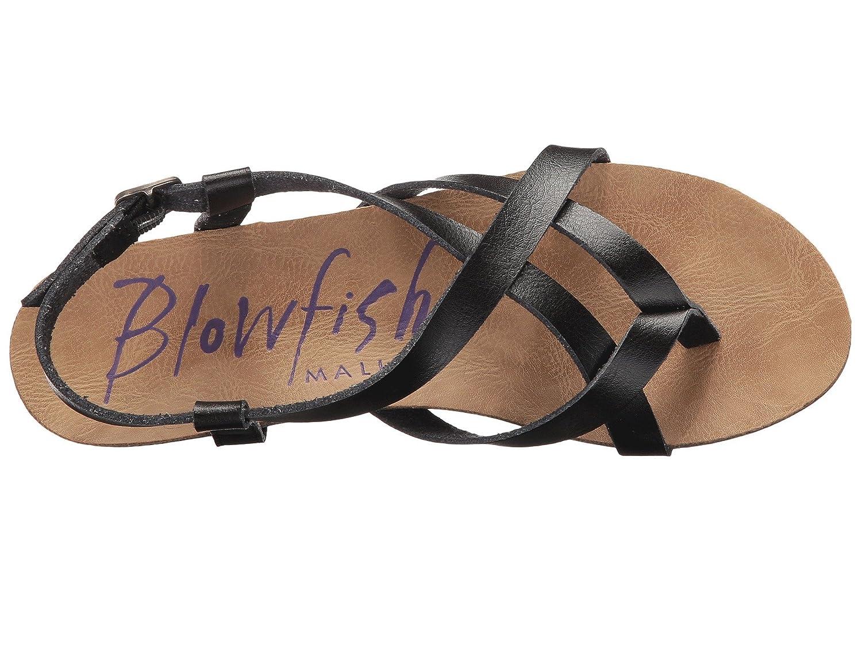 Blowfish Women's Dyecut Granola Fisherman Sandal B07BTN4N4D 7 B(M) US|Black Dyecut Women's b7100e