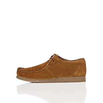 Brand - find. Men's Moccasin Beige (Tan) US 8: Shoes