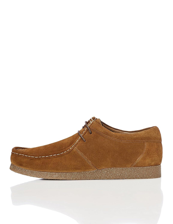 Find Zapato de Ante Estilo Wallabee Hombre 45 EU Beige (Tan)