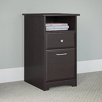Amazon.com: Cabot 2 Drawer File Cabinet in Espresso Oak: Kitchen ...