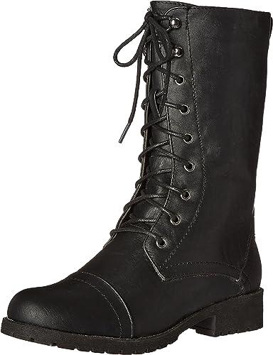 Lace Up Combat Boots Women