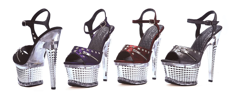 Ellie Shoes Women's 649-Zane Platform Sandal B00DGQJGRI 9 B(M) US|Red