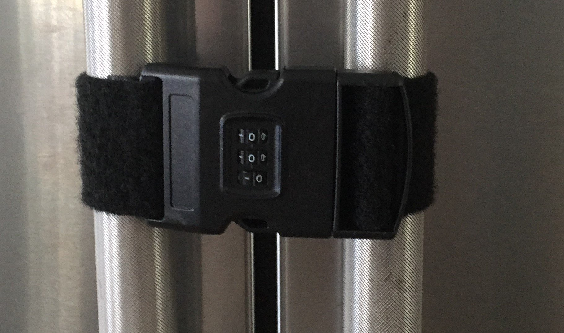 Multi use Safety Self Adhesive Refrigerator Lock Latch with 3 Digits Combination for Toddlers Children and Special Needs Adults or Children / 1 Count/No Hardware or Tools is Needed.