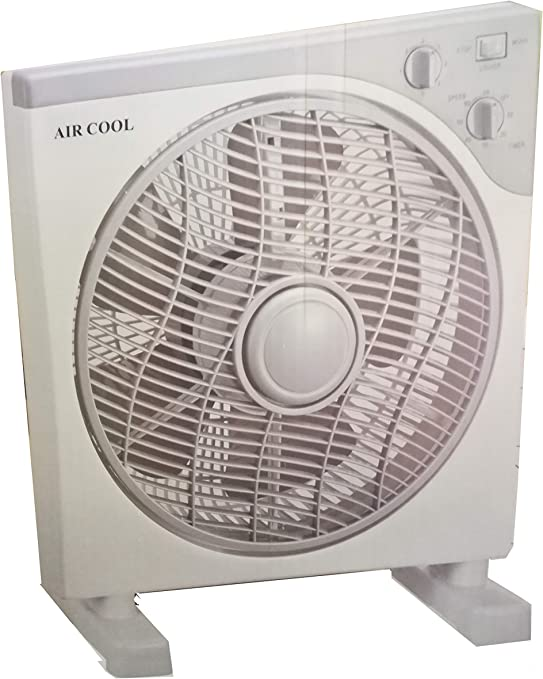 VENTILADOR DE 40 CM 40 WATT CUADRADO COOL AIR VELOCITA3: Amazon.es: Hogar
