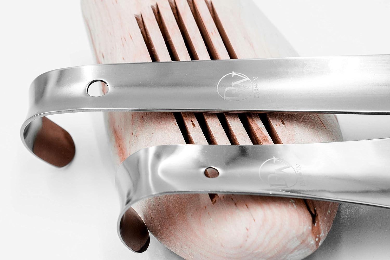 Chausse-pied long et petit en m/étal DARWiN Lot de 2 chausse-pied en acier inoxydable de qualit/é sup/érieure 42 et 14 cm PDF