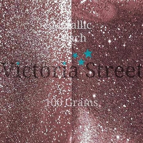 "Victoria Street Glitter Fine 0.008/"" // 0.2mm Metallic Rose Gold Beige Sand"