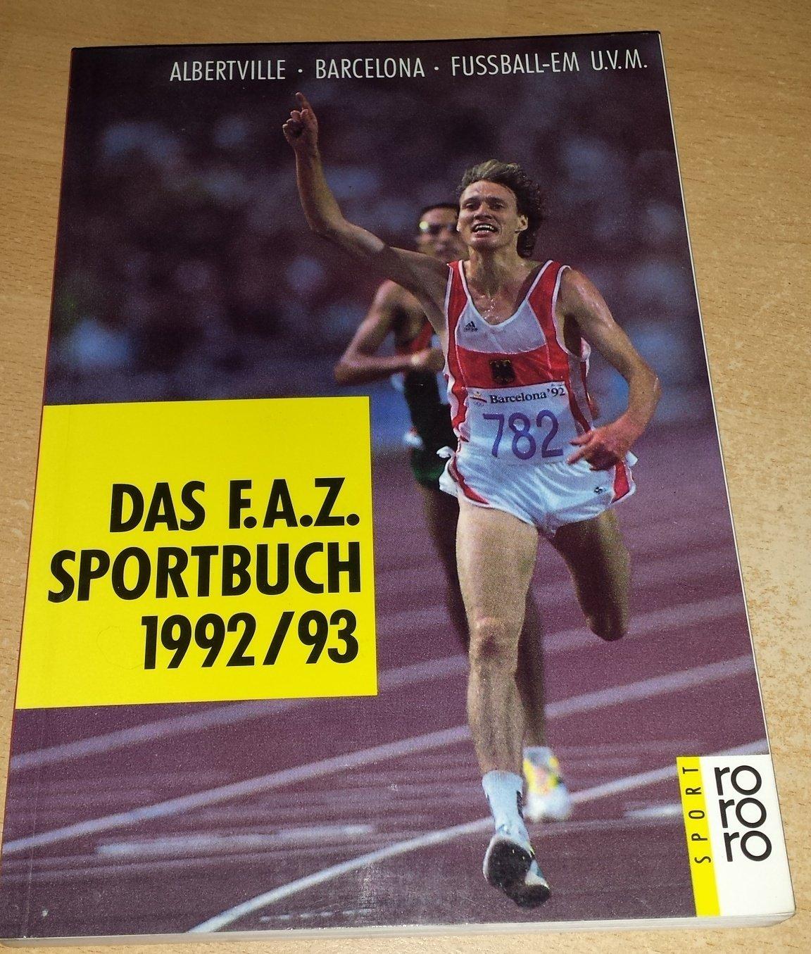 Das F.A.Z. Sportbuch 1992/93