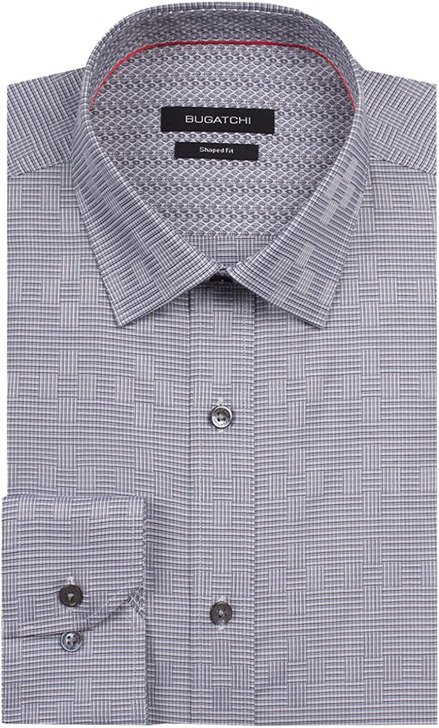 Bugatchi Storm Cloud Classic Fit Button Up Shirt