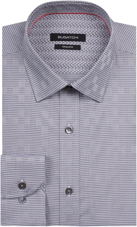 Bugatchi Storm Cloud Classic Fit Button Up Shirt