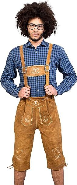 Almwerk - Pantalón de cuero para hombre hasta por debajo de ...