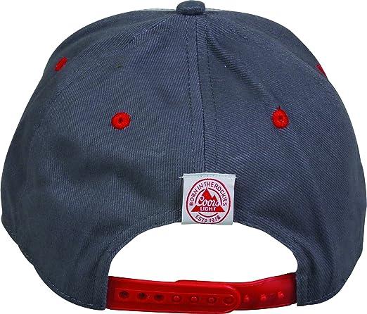 c2cfa86c Amazon.com: Outdoor Cap Men's Coors Light Cap, White/Dark Grey, One Size:  Sports & Outdoors