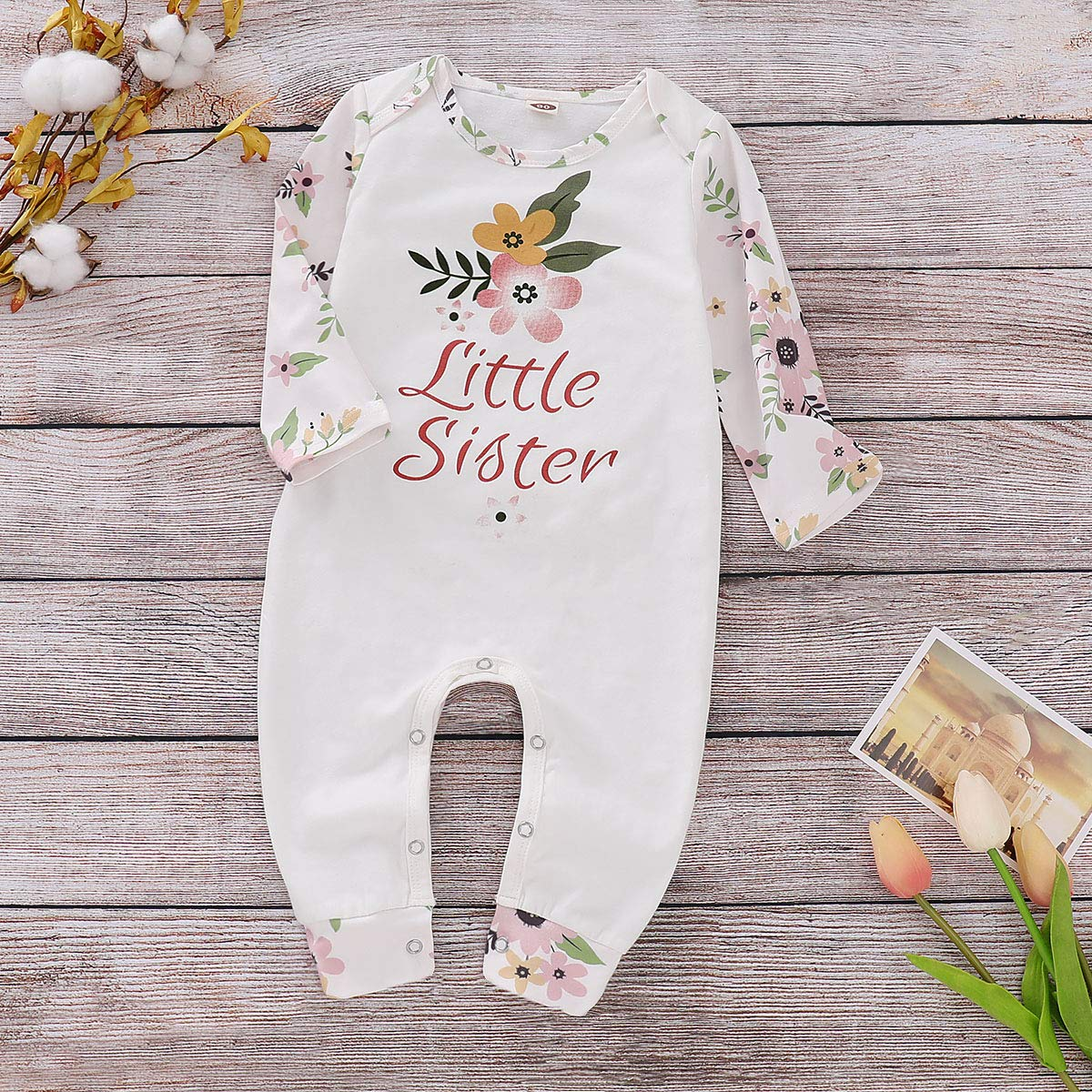 SOBOWO Baby Boy Girl Romper Long Sleeve Pajamas Jumpsuit Playsuit Outfits One Piece