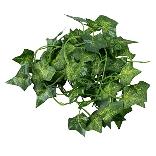SODIAL(R) 2M 6.6 Feet Artificial Ivy Fake Foliage Leaf Flowers Plants Garland Garden Decoration 2M (Sweet potato leaf)