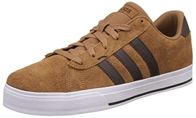 adidas neo daily brown